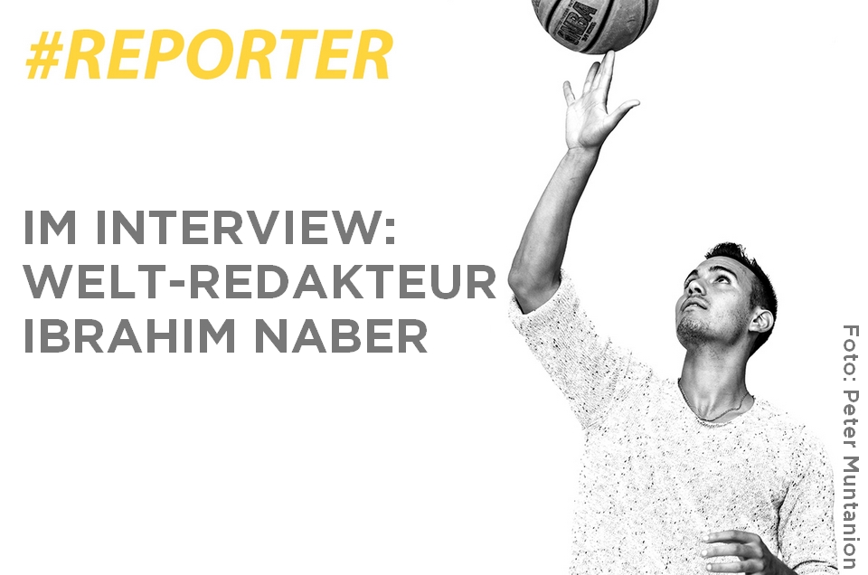 Im Interview: Welt-Redakteur Ibrahim Naber